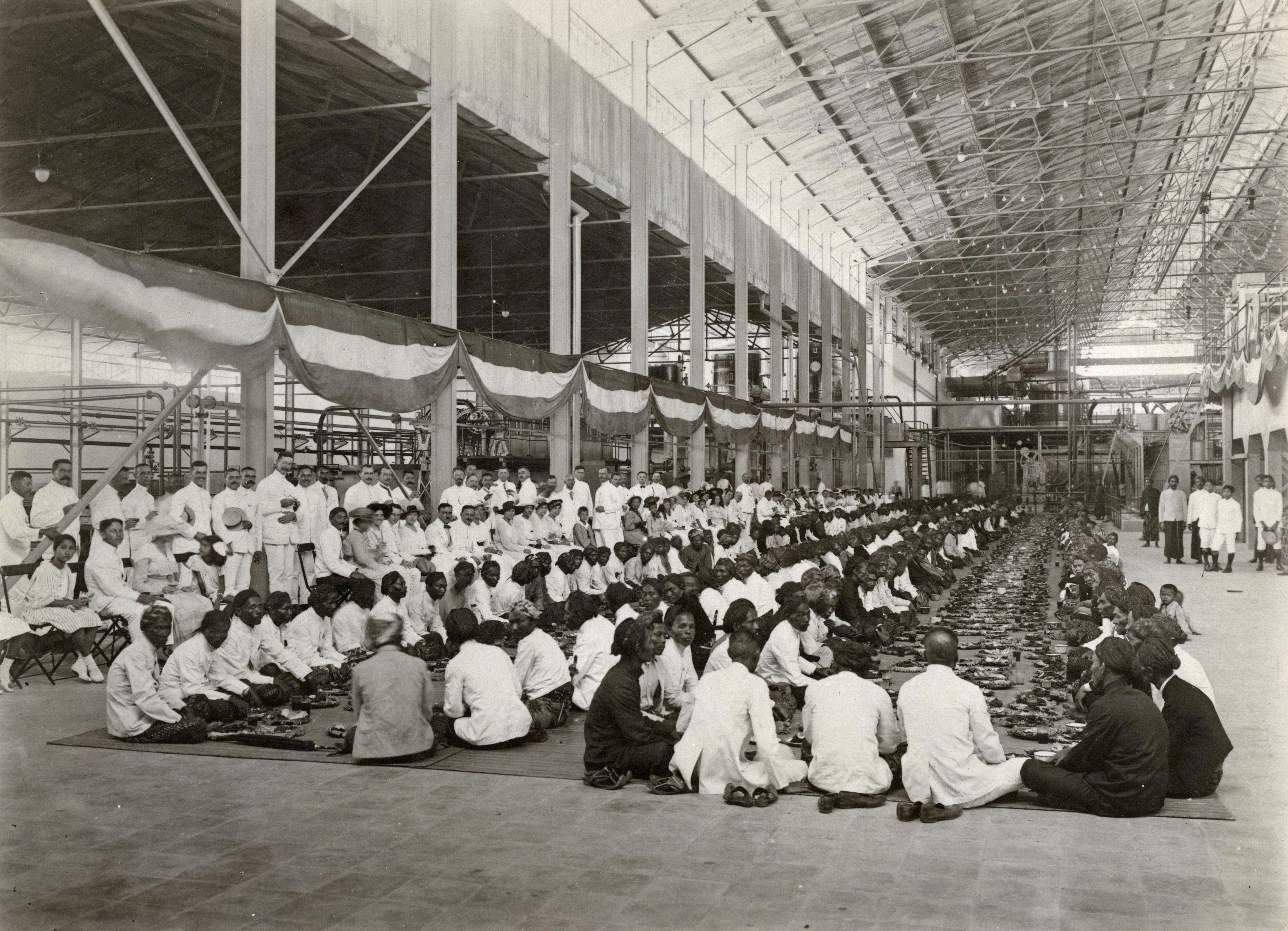 Selamatan Pembukaan Pabrik Gula Tjepiring 1917