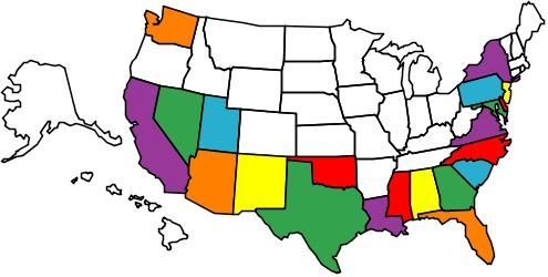Here Is A Map Of All Of The States I Have Visited This Website - Interactive visited states map