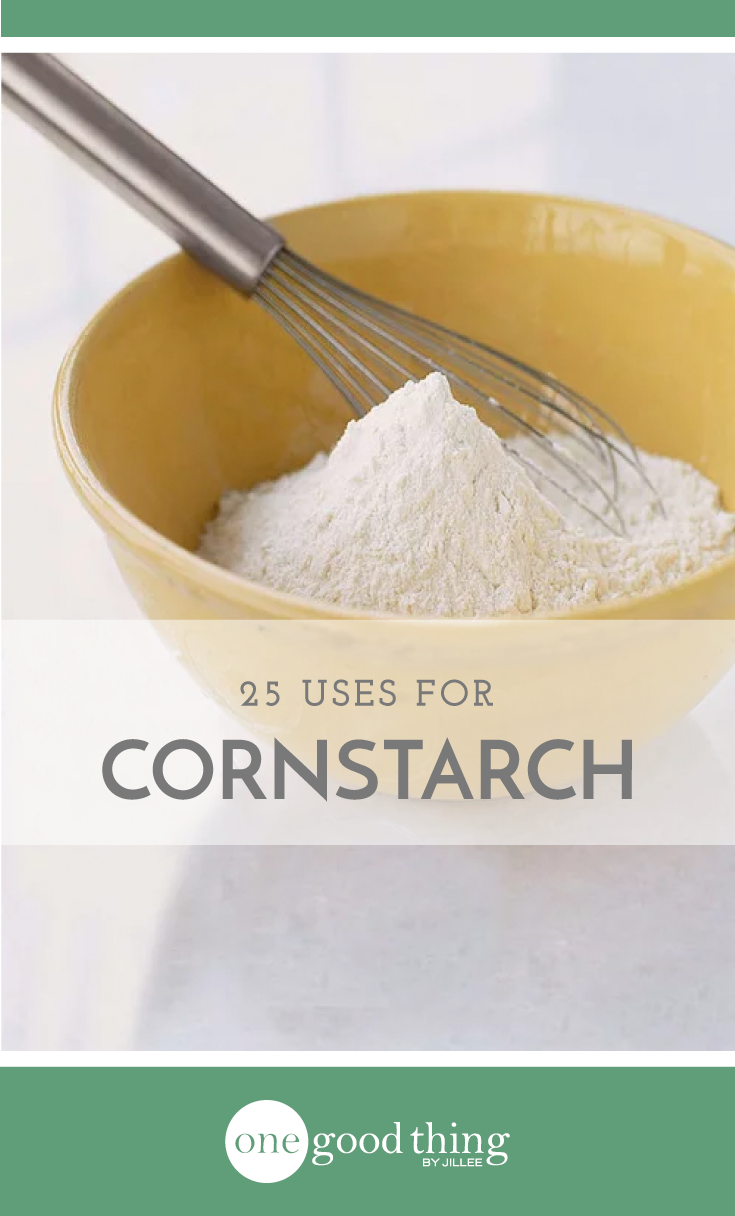 25 Ways Cornstarch Is Even More Useful Outside The Kitchen