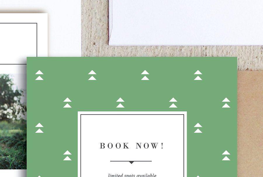 Holiday Mini Session Templates Mini Holiday Session Brochure
