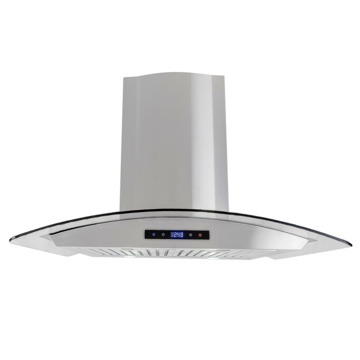 30 In Wall Mount Range Hood With Touch Controls Cosmo Appliances Cos 668as750 Wall Mount Range Hood Range Hood Led Lights
