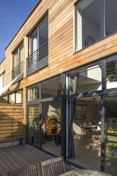 Maisons Bois Windows Pinterest Extensions, House projects and