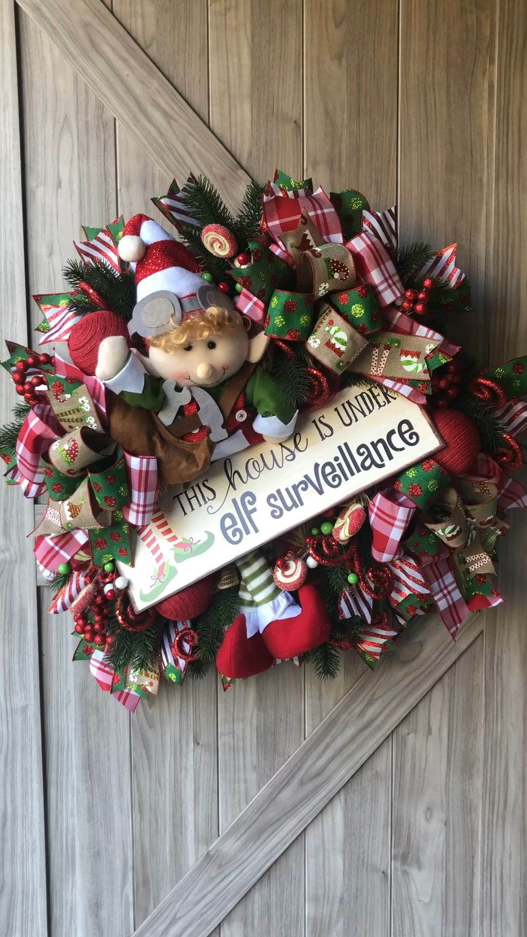 Photo of Corona di Natale elfo