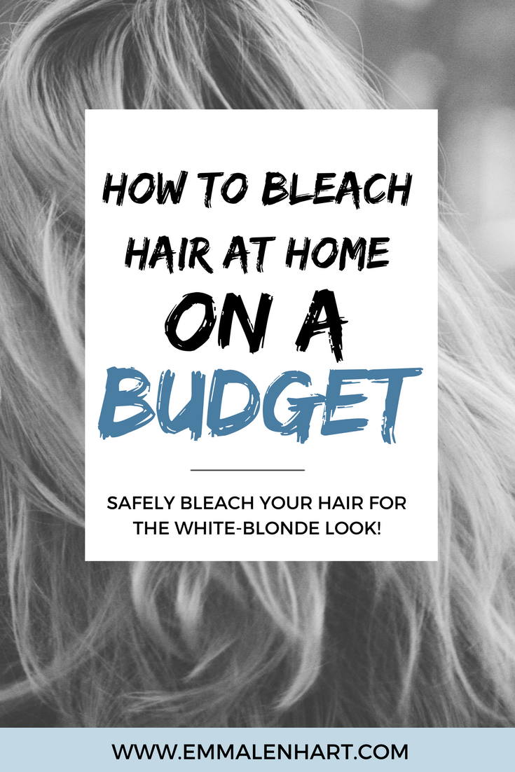 How to Bleach Hair at Home Safely and On a Budget Pinterest
