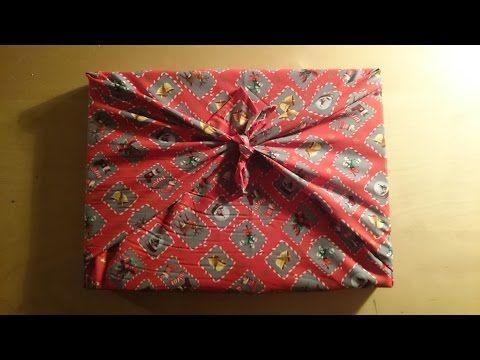 TUTO - Furoshiki : le meilleur emballage cadeau zéro déchet et ecofrugal