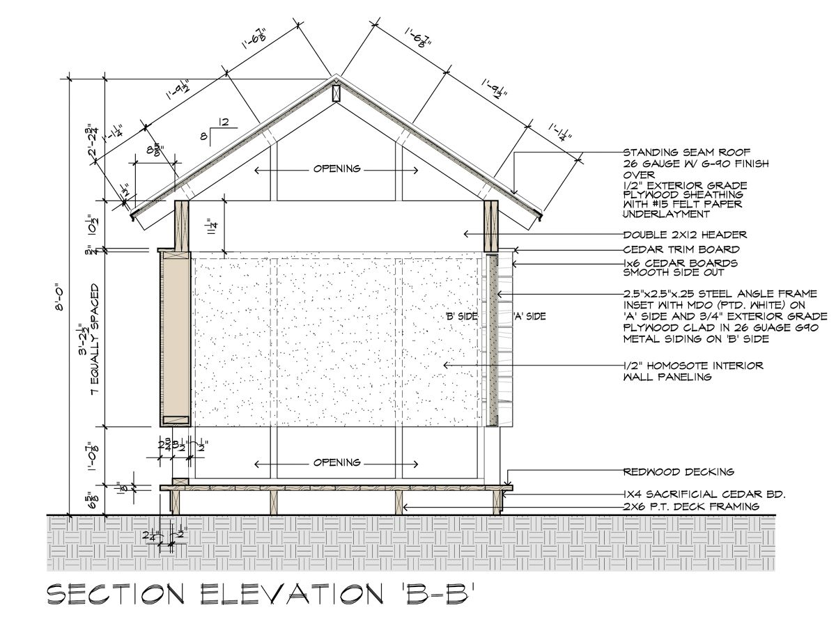 Movie Theater Playhouse The Construction Drawings