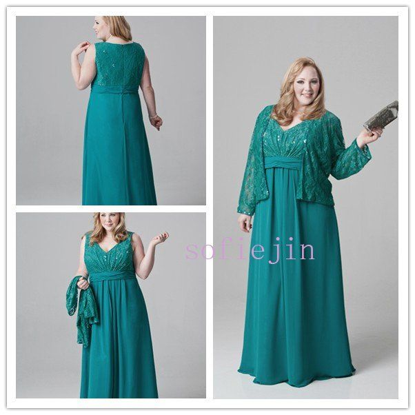 floor length mother of the bride dress comes in 16 colors ...