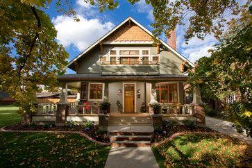 Detailed Craftsman Home Traditional Exterior Wilmington Ww Builders Design Build Associates Craftsman Exterior Craftsman Style Homes Craftsman House