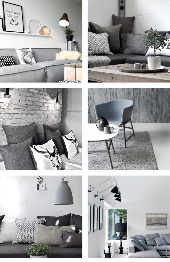 interiorinspiration_grau Room Pinterest Grau, Wohnzimmer und
