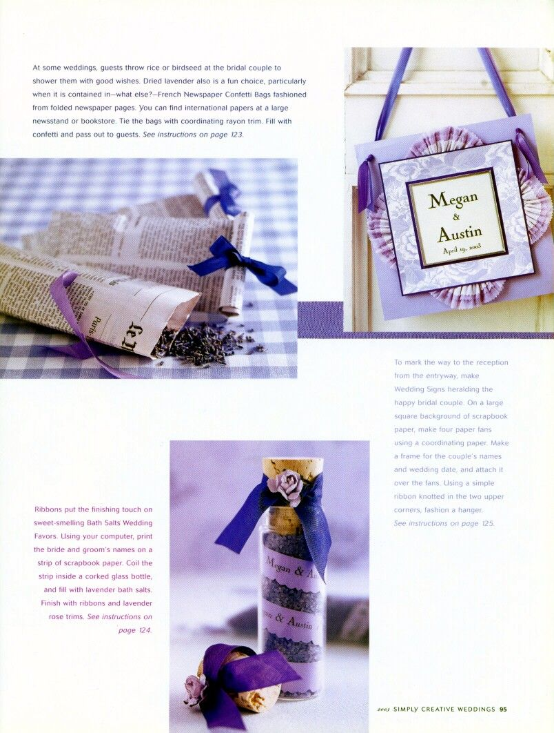 Wedding Paris Style - favors and more - from bhg.com | DIY ...