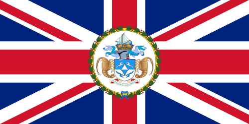 Flag Of Tristan Da Cunha Wikipedia British Empire Flag British Flag Historical Flags