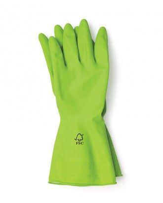 Green Tips Rubber Gloves