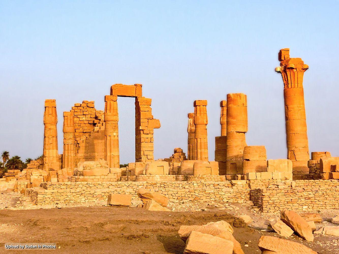 Sudan Antiquities Soleb Temple Northern Sudan من آثار السودان سولب شمال السودان By Ben Tang Sudan Soleb Antiquities Temple Northern Archeologia