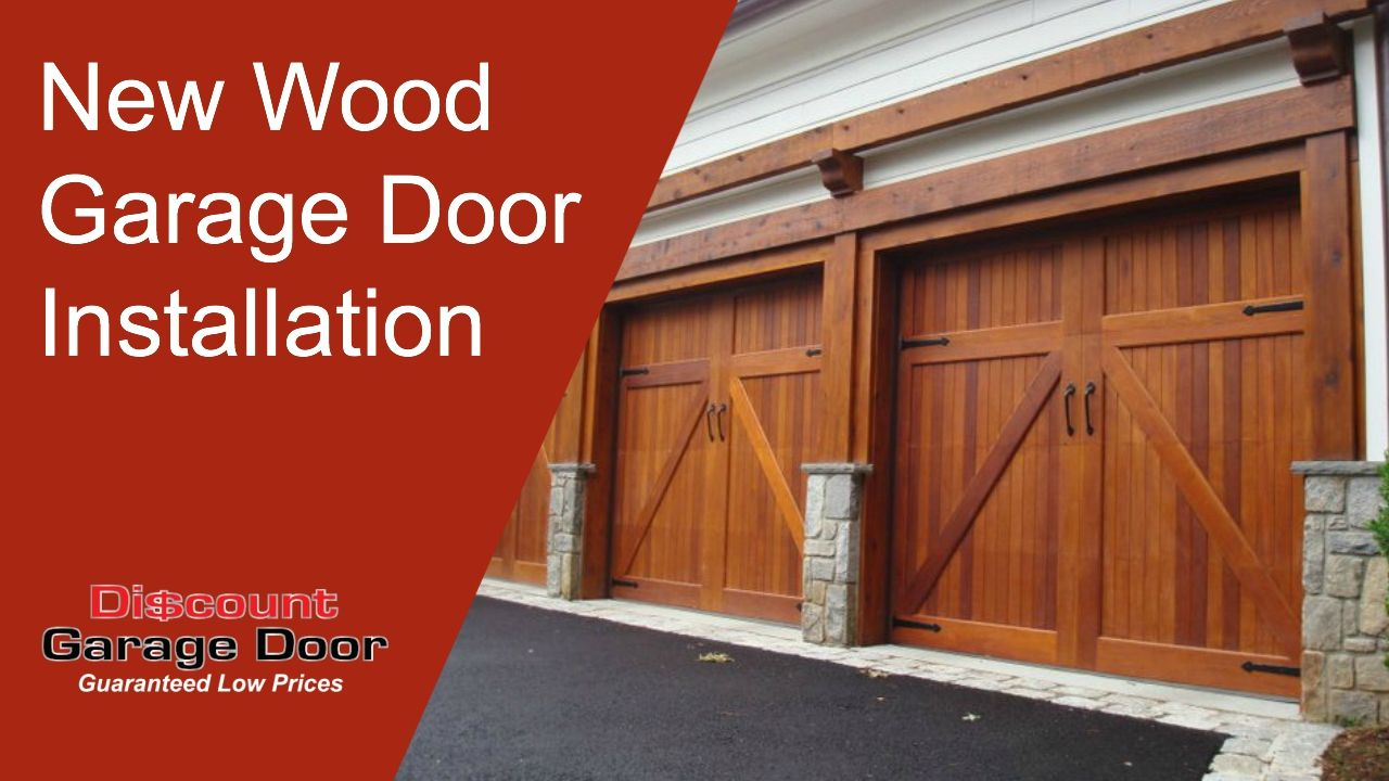 Pin By Discount Garage Door On Video Wooden Garage Doors Custom Garage Doors Garage Doors