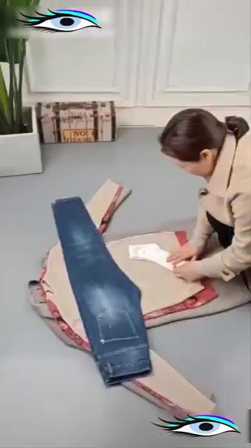 Creative Ideas #foldingclothes
