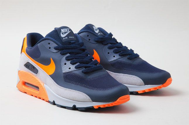 nike air max blue orange grey