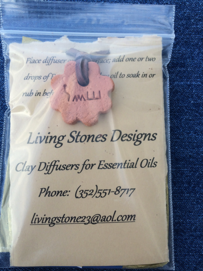 Beautiful hand-crafted aroma therapy jewelry. Currently, Living Stones Designs offers diffuser necklaces but other types of jewelry will become available in the following months. Living Stones Desi...
