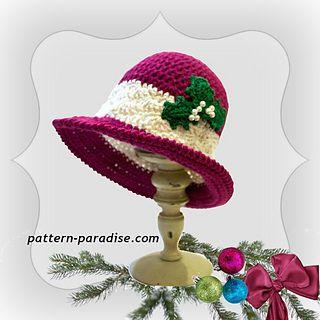 Crochet holiday hat   Ravelry