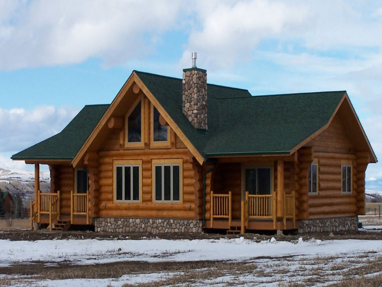 Triple Wide Mobile Log Cabins Log Cabin Double Wide Mobile Homes