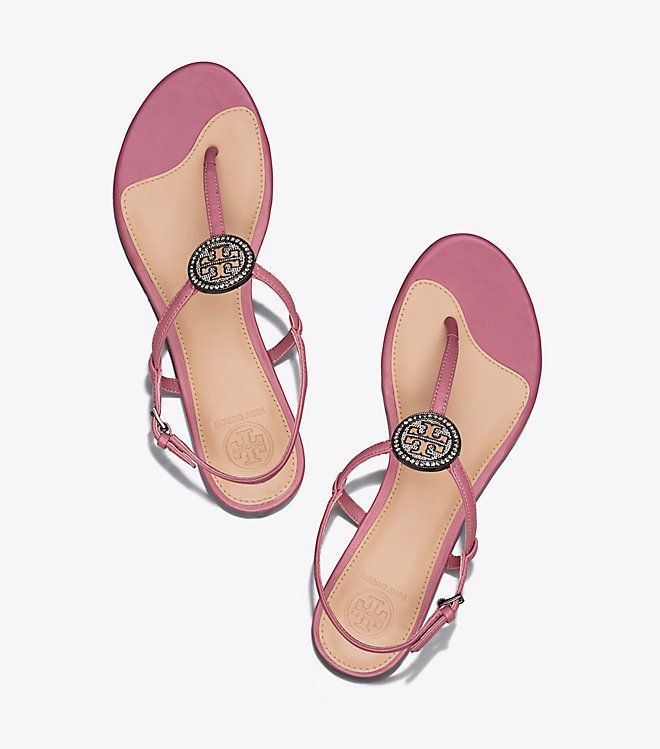 bd6267ee82 Visit Tory Burch to shop for Liana Flat Sandal and more Womens View All.  Find designer shoes
