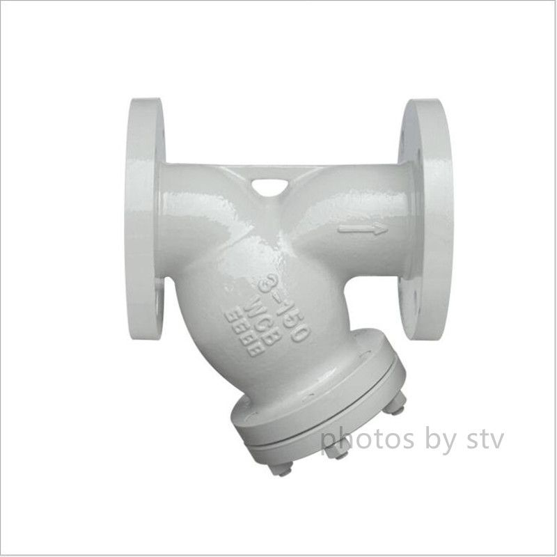Cast Steel Y Strainer Ansi B16 34 Wcb 3 Inch Class 600lb Cast Steel Stainless Steel Screen Strainers