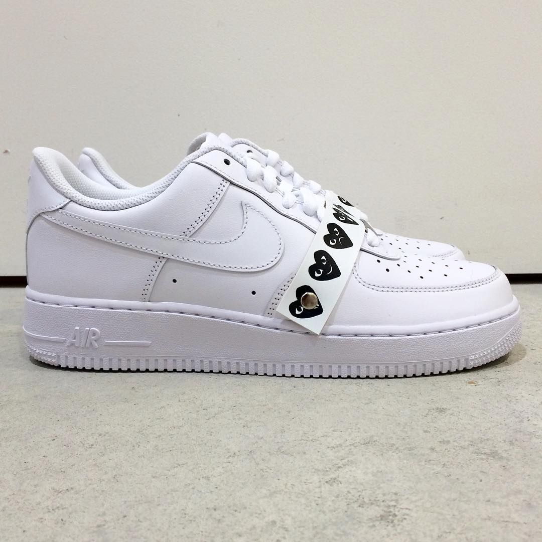 sports shoes 257c0 69b6c Check out the New Nike Air Force 1 x COMME des GARÇONS  Emoji     Highsnobiety