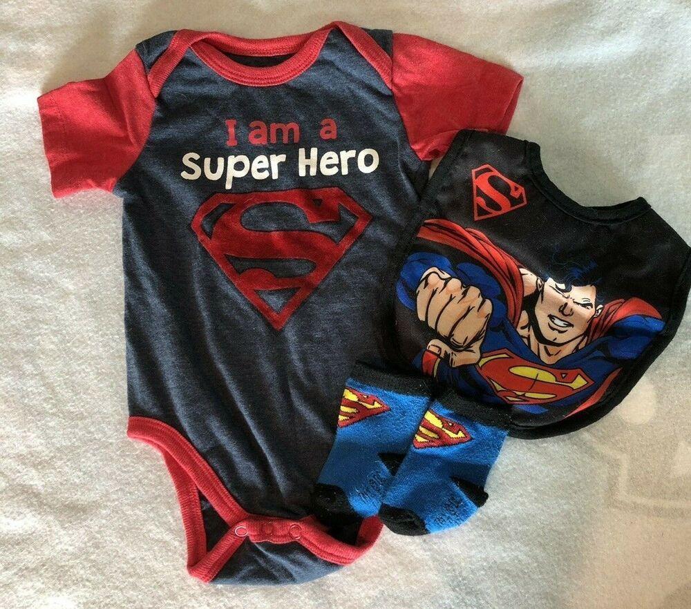 Bicycle Men Toddler Baby Boy Girl Long Sleeve Baby Newborn Boy Superman Bodysuits