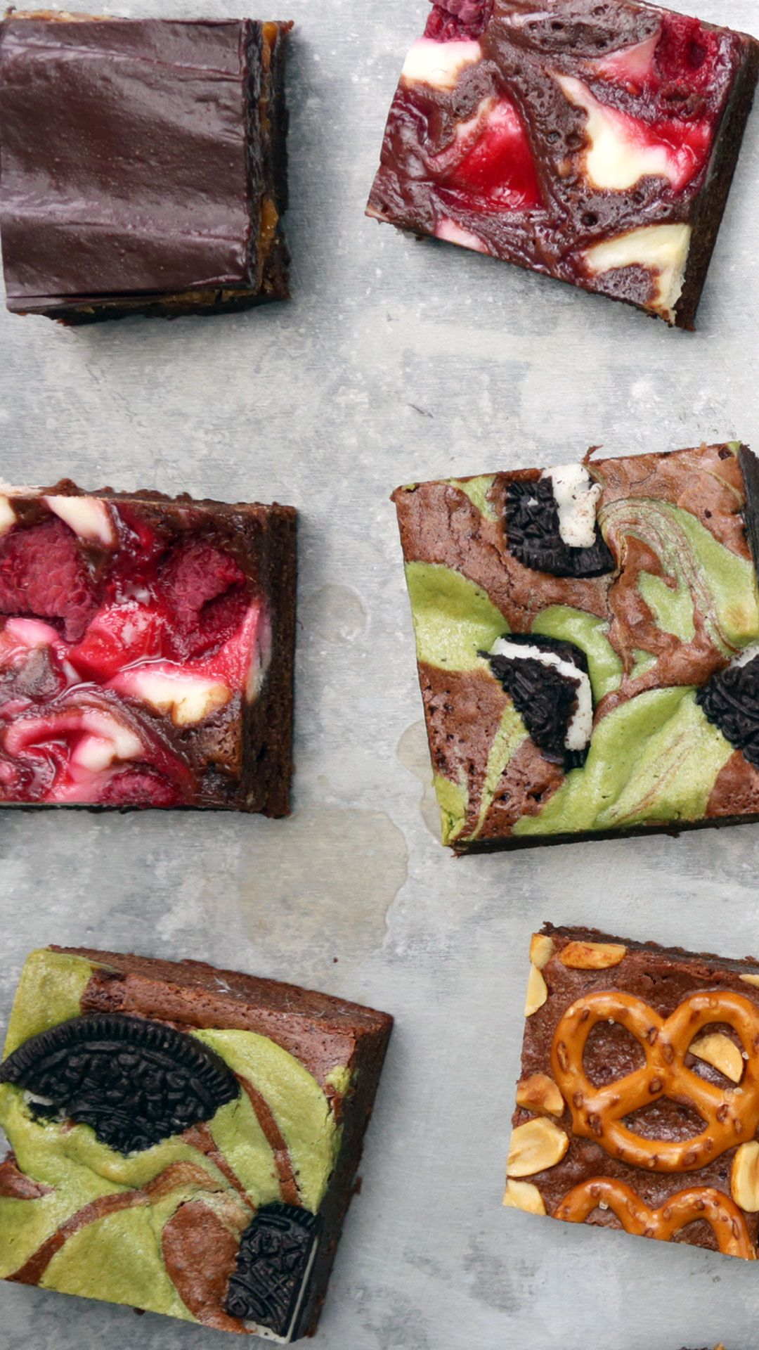 Brownies 4 Ways