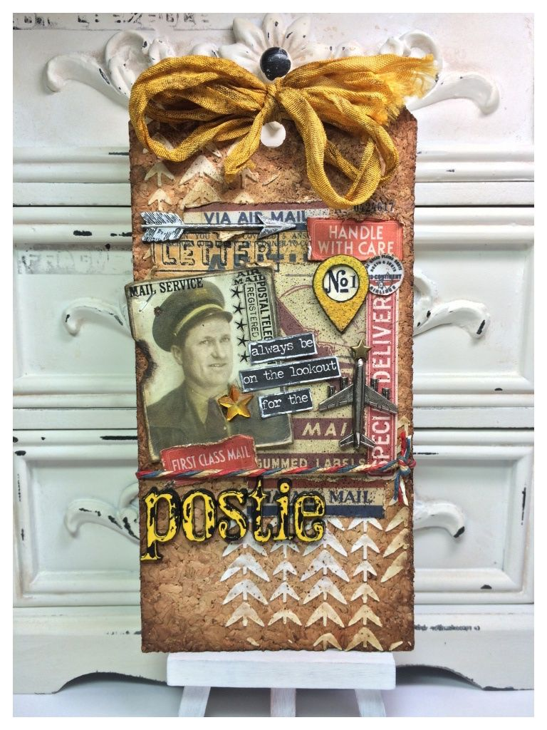 Tim Holtz 12 Tags of 2015 May