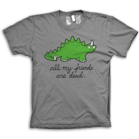 All My Friends Are Dead Stegosaurus T Shirt With Images