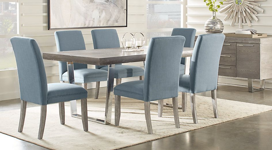 Cindy Crawford Home San Francisco Gray 5 Pc Dining Room 777 0