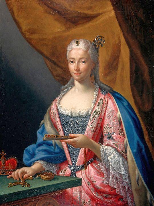 Portrait of Maria Clementina Sobieska by Francesco Trevisani, 1719