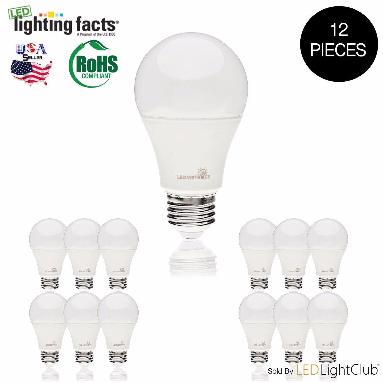 60 Watt Equivalent Slimstyle A19 Led Light Bulb Soft 2700k Amp 5000k 12 Pack 114 In Home Amp Garden Lamps Lighting Amp Ceiling Bulb Led Led Light Bulbs