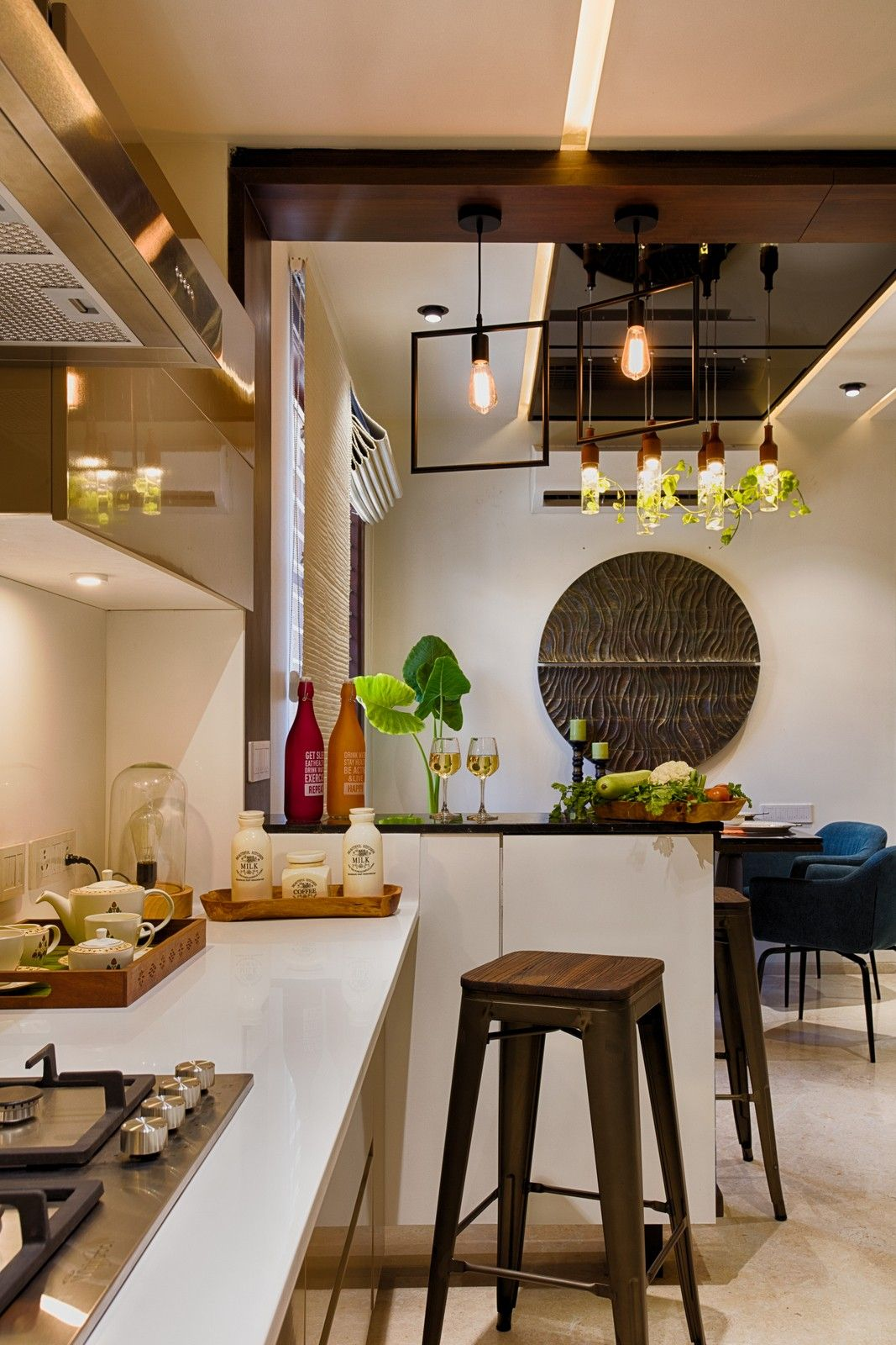 15 Indian Kitchen Design Images From Real Homes Modern Kitchen Design Kitchen Design Images Kitchen Room Design
