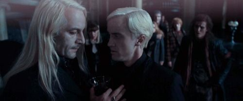 Lucius  Draco - Deathly Hallows Part 1 Screencap #HarryPotter ...