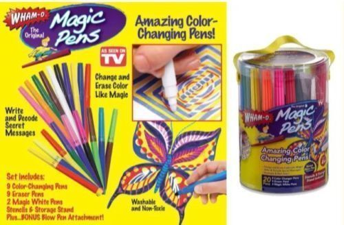 Hot Magic Pens Rainbow Magic Markers Color Changing Pens As Seen
