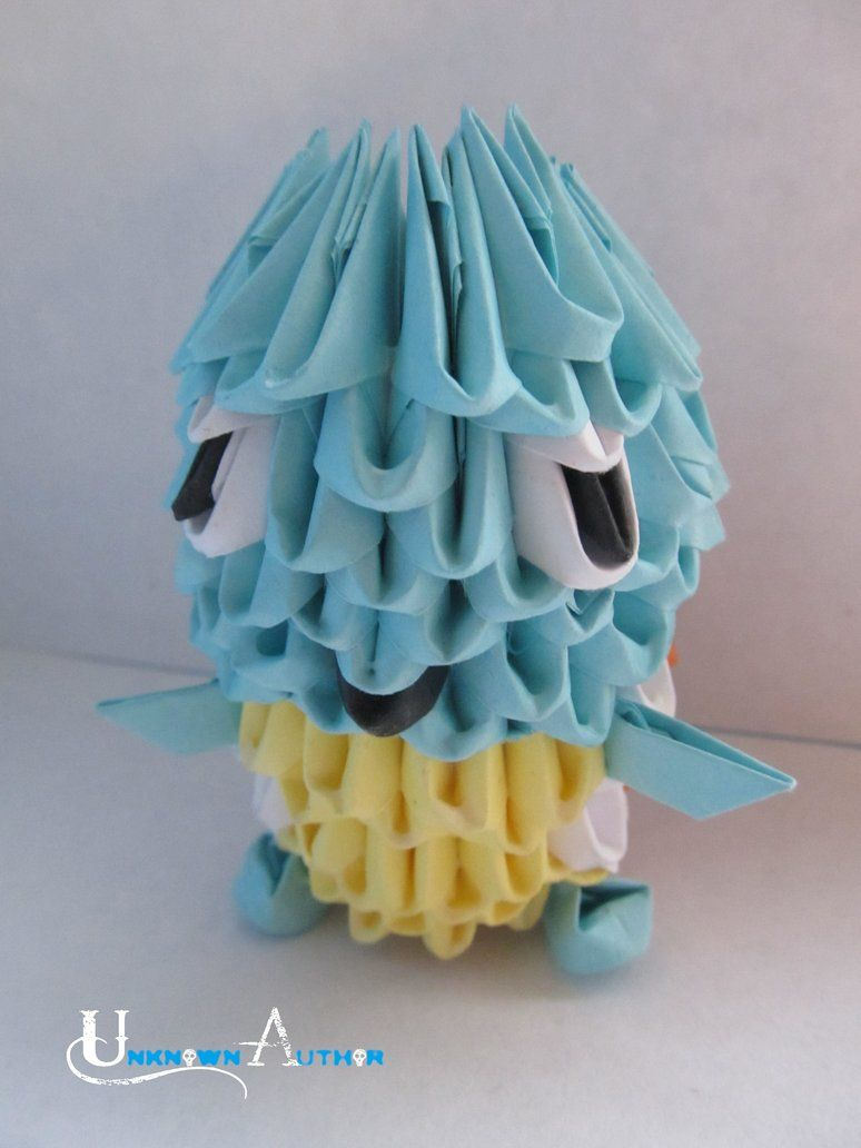 3d origami squirtle being incredibly clever ii pinterest 3d origami squirtle jeuxipadfo Images
