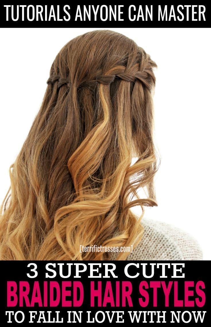 Braidedhairstyles braided hairstyles in pinterest hair