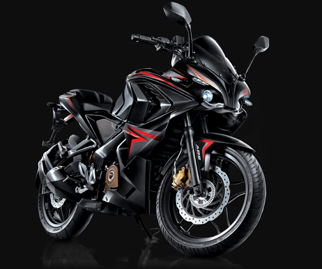 Pulsar Rs200 With Top Speed 140kmph And The Mileage 35kmpl Spec