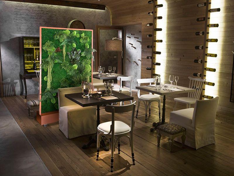 Arredamento Piante ~ Quinte mobili piante stabilizzate zielone ściany
