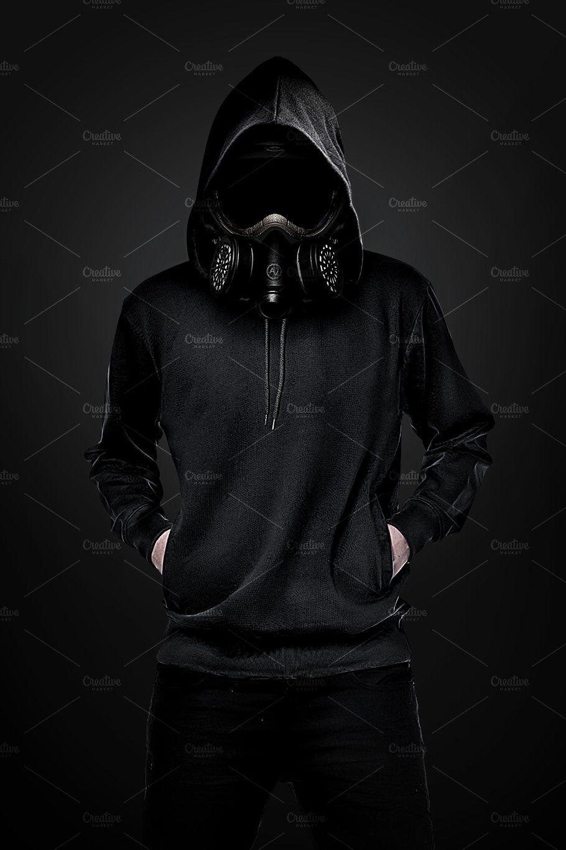 Gas Mask Man by amorjesu on creativemarket Gas mask