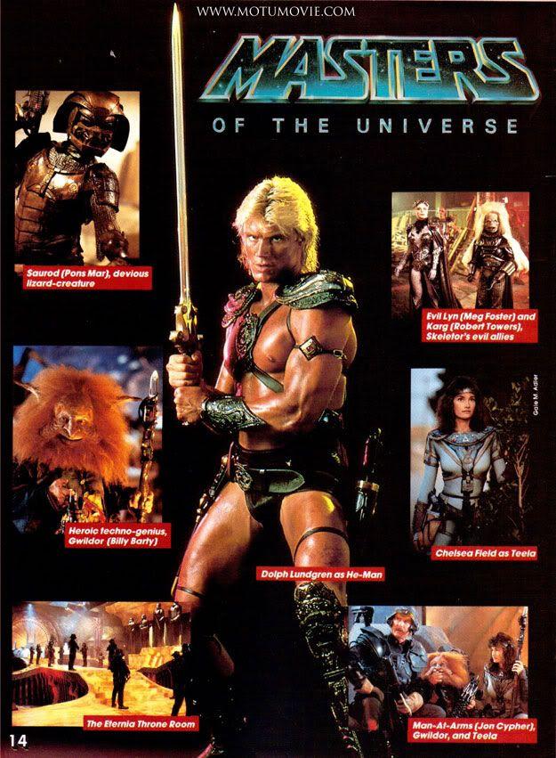 Masters Of The Universe 1987 Masters Of The Universe Universe