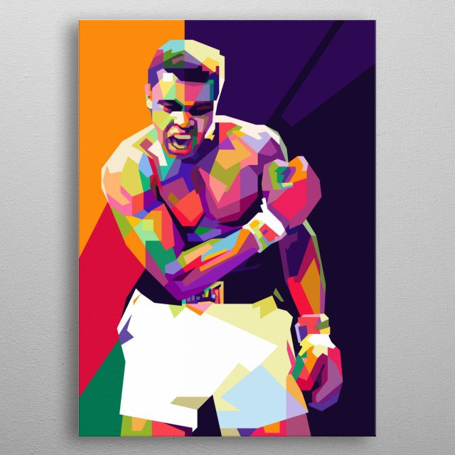 Muhammad Ali, The Greatest | Displate thumbnail