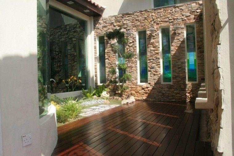bonito diseño para patios interiores Home decor Pinterest