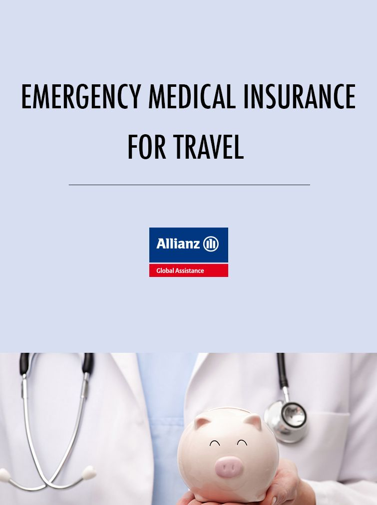 Emergency medical insurance for travel