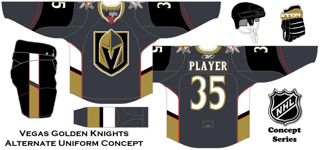 super popular 50615 42384 NHL Expansion Series Concept. Vegas Golden Knights Alternate ...