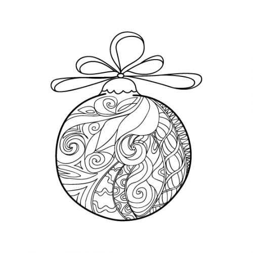 Christmas Coloring Anti Stress Therapy 21 Christmas