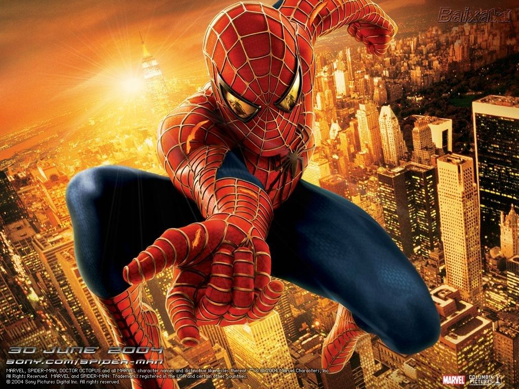 Widescreen Wallpaper Spider Man