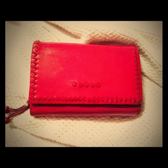 SIGRID OLSEN Patent leather pink Euro wallet  SIGRID OLSEN Patent leather pink Euro wallet  Great Color ..Easy to clean .. Great condition  sigrid olsen Bags Wallets