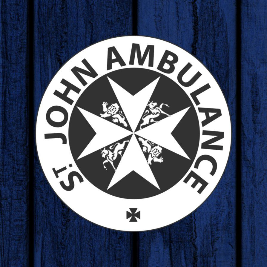The Quot St John Ambulance Quot Plaque From The Right Hand Door